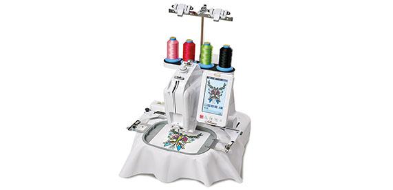 Baby Lock Alliance Single Needle Embroidery Machine