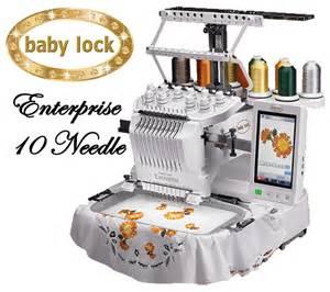 Babylock Enterprise 10 Needle Embroidery Machine